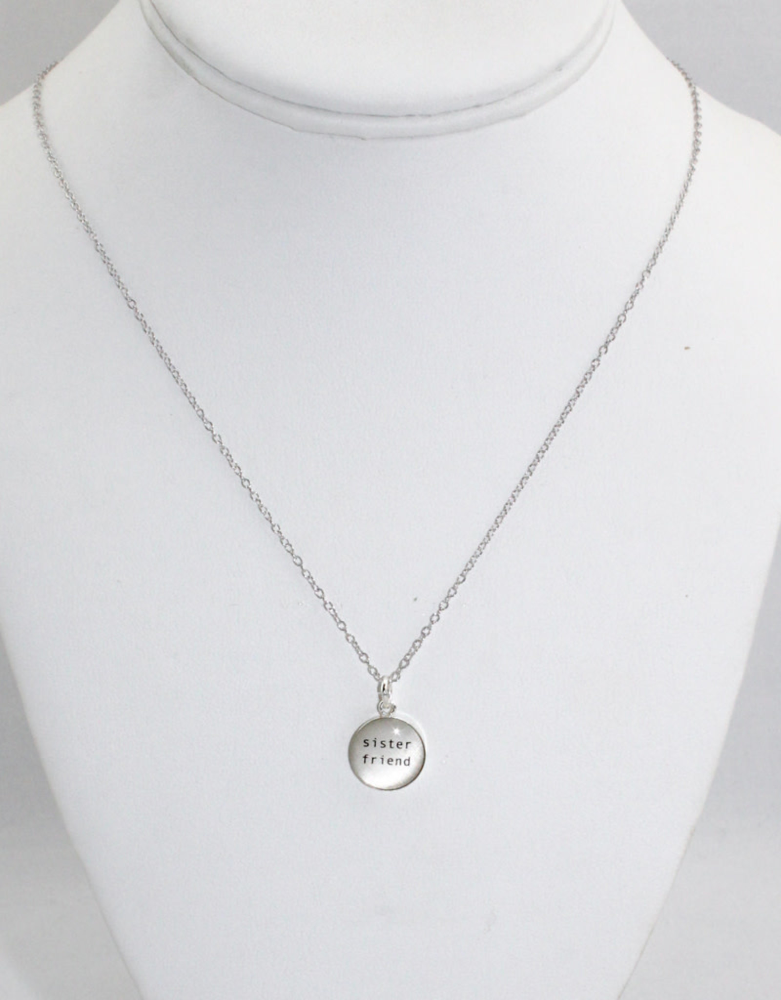 Everyday Artifacts Sister Friend Necklace