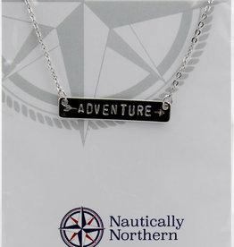 Nautically Northern Adventure Bar Necklace