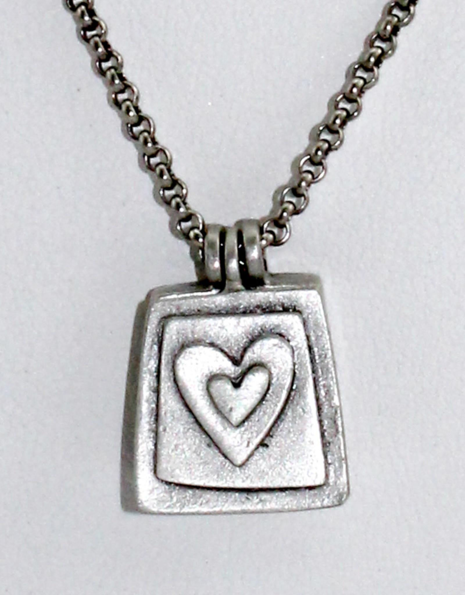 Emily Rosenfeld Locket- Be Loved Necklace