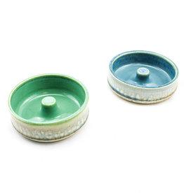 Earth Tones Pottery Egg Bageler