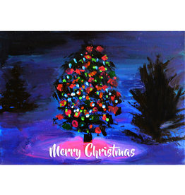 Create Merry Christmas Tree Lights