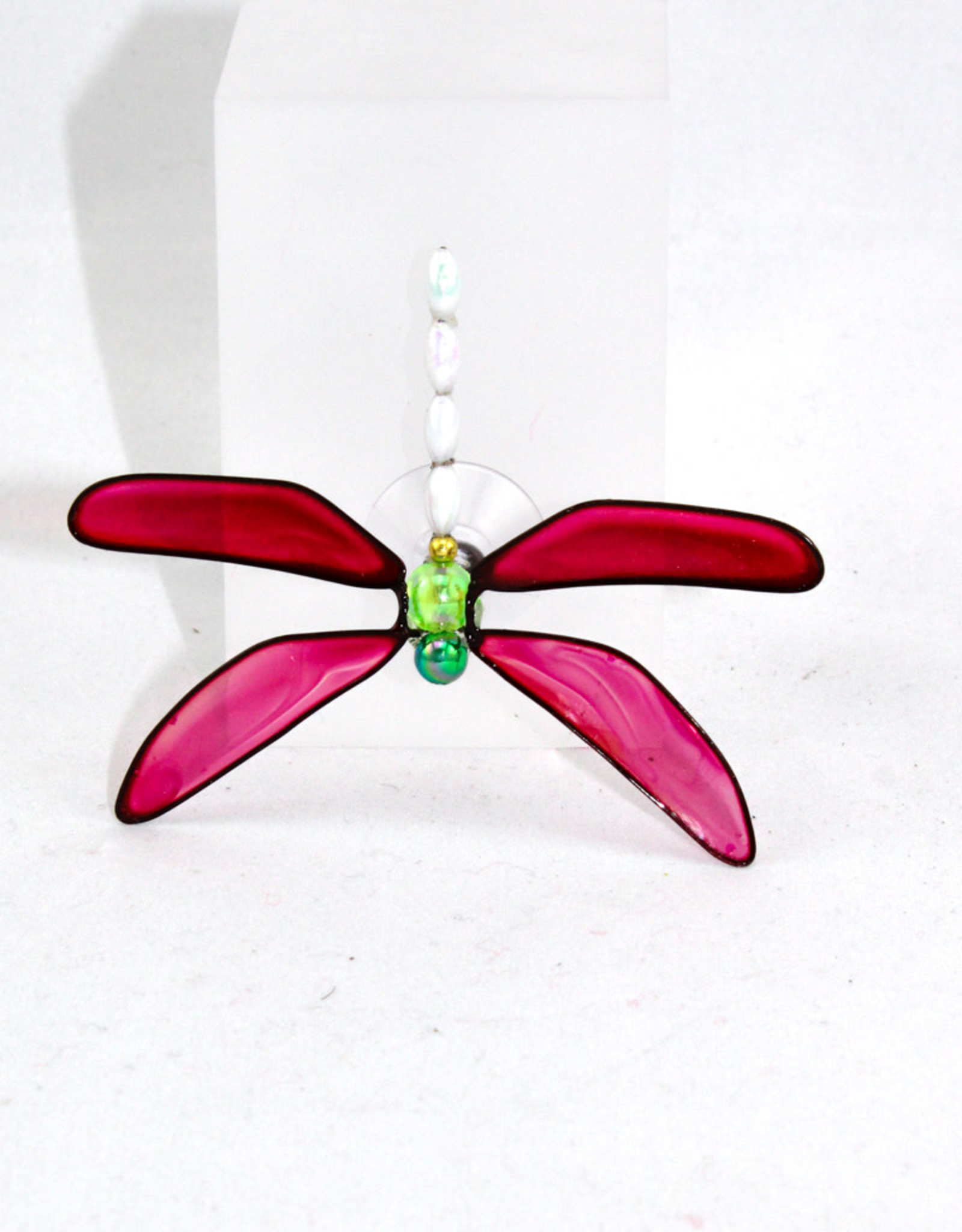 BUGZ Workshop Inc. Dragonfly suction cup Red
