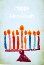 Create Holiday Card-Menorah-10 Pack