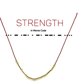 Little Be Design Strength Necklace