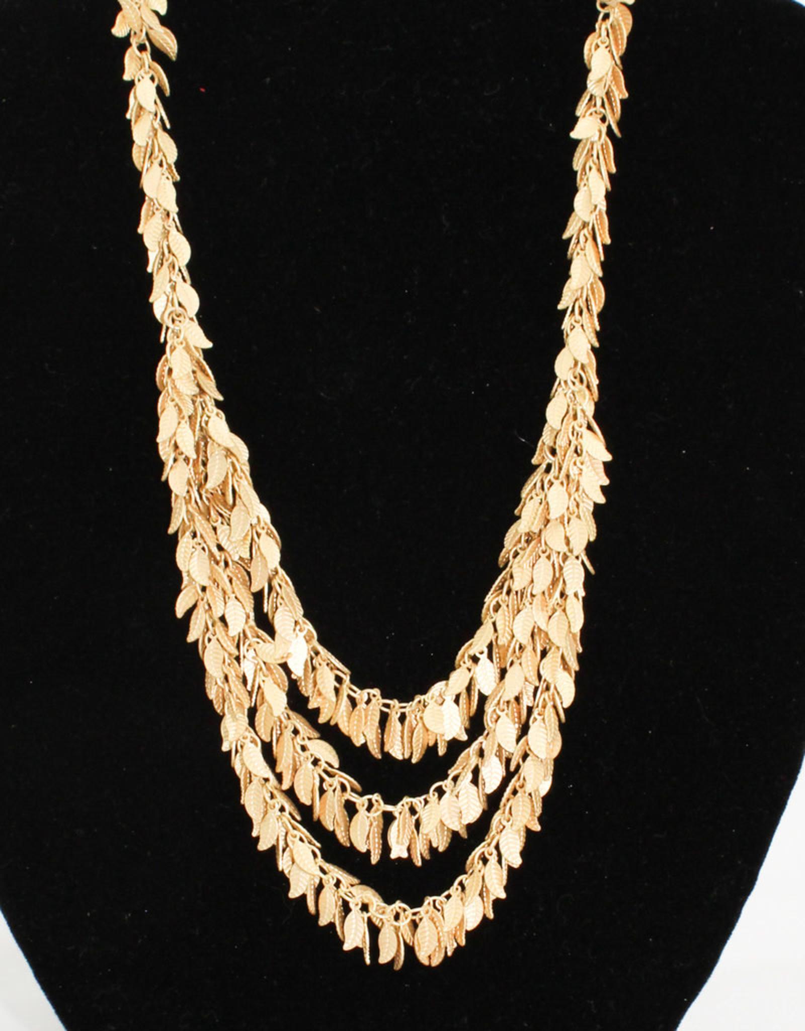 Stefanie Wolf Designs 18-22'' Leaf Collection Necklace