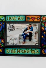 Spooner Creek Designs Moon & Back Wall Plaque