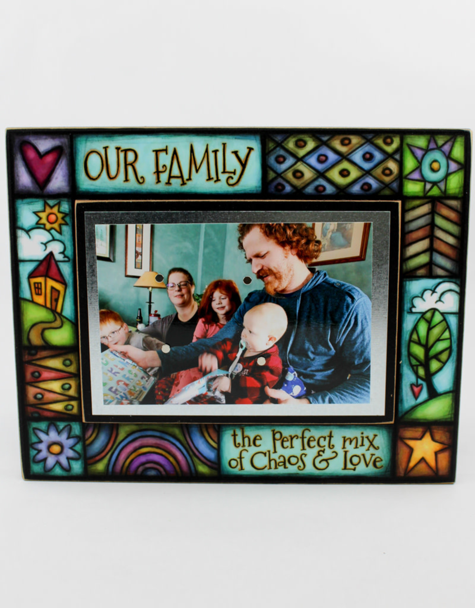 Spooner Creek Designs Our Family Wall Plaque