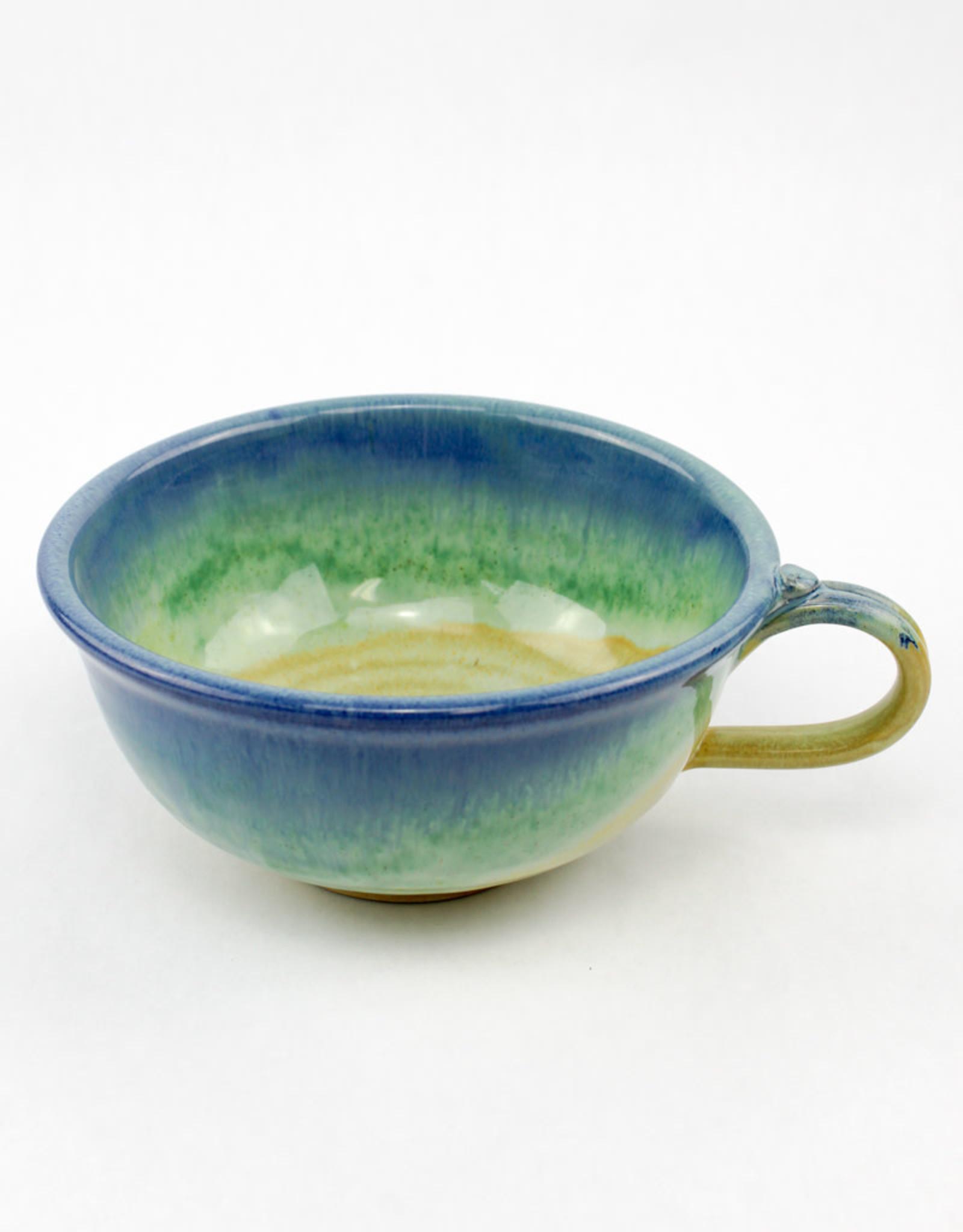 Jason Silverman Ceramics Chowder Mug Jade Sky