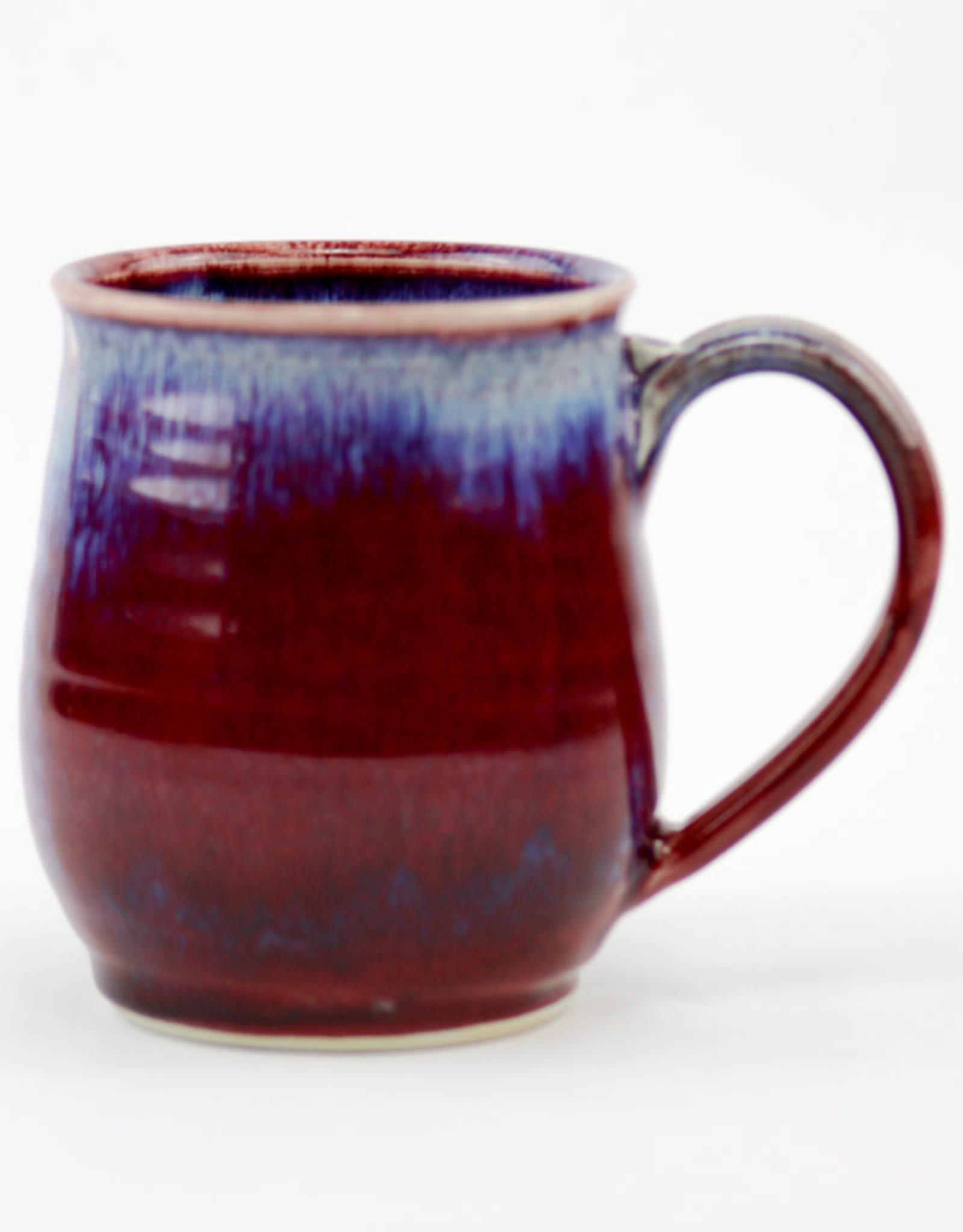 Jason Silverman Ceramics Wide Mug Red