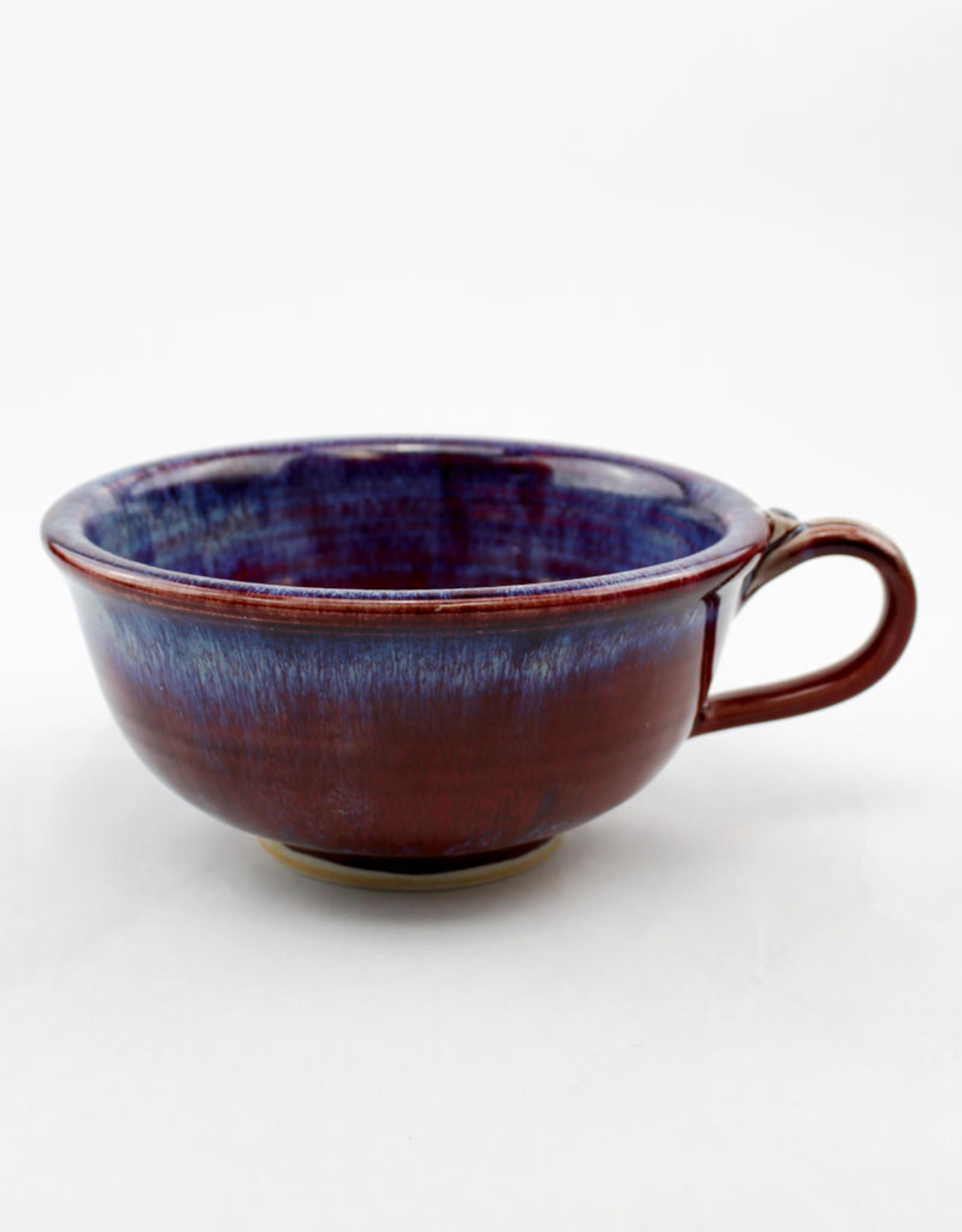 Jason Silverman Ceramics Chowder Mug Red