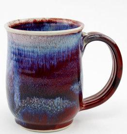 Jason Silverman Ceramics Short Mug Red