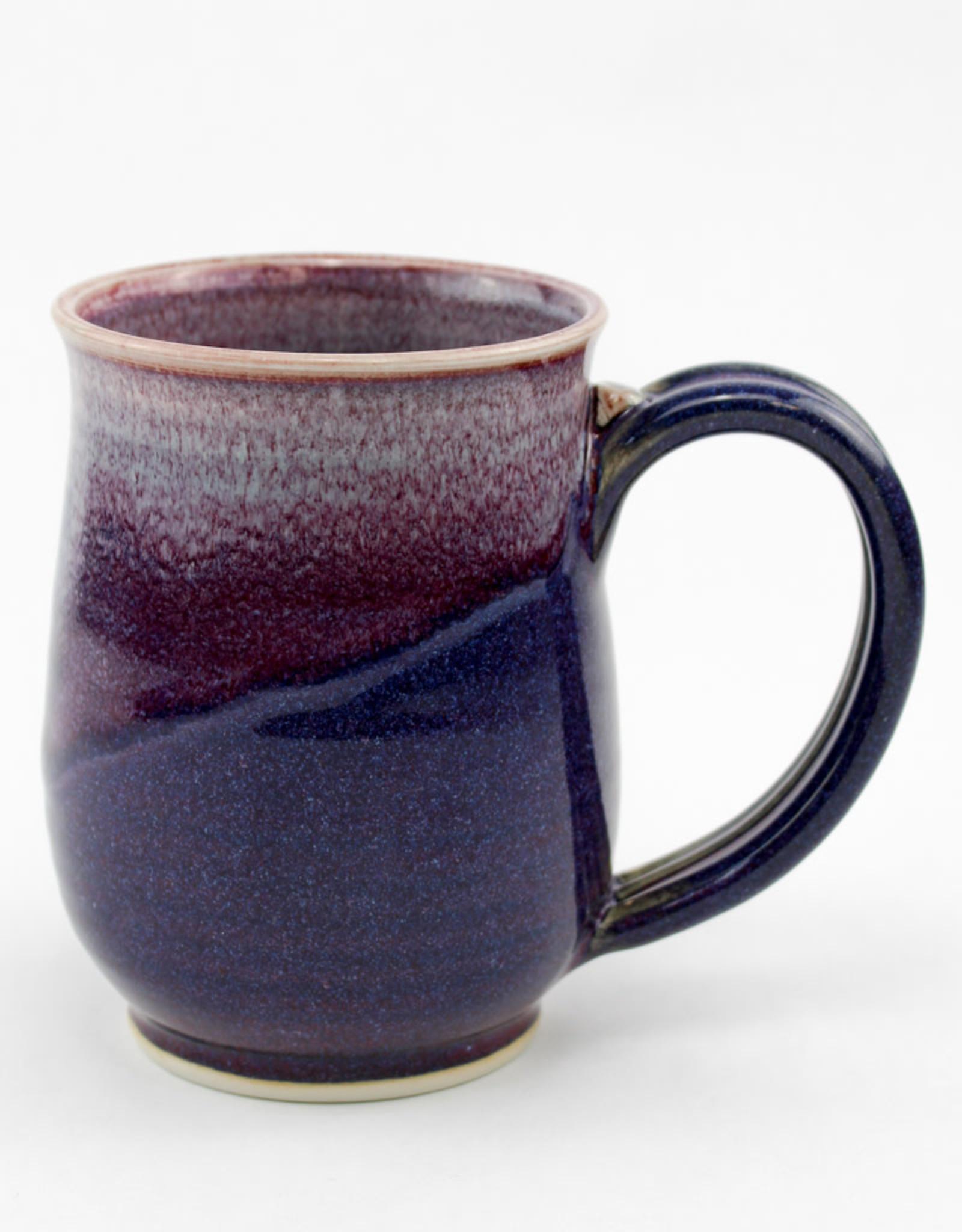 Jason Silverman Ceramics Short Mug Purple