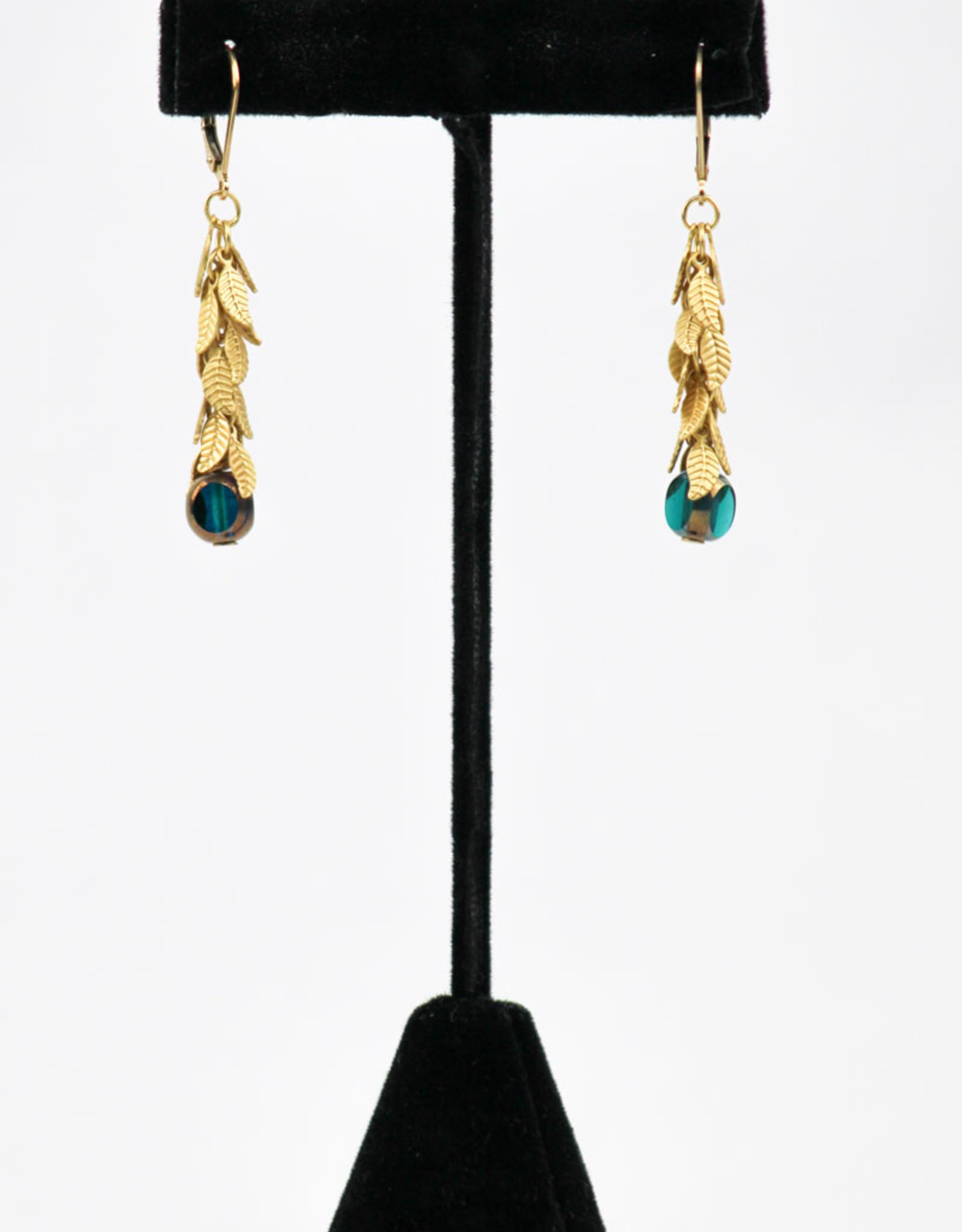 Stefanie Wolf Designs Fringe Drop Earrings