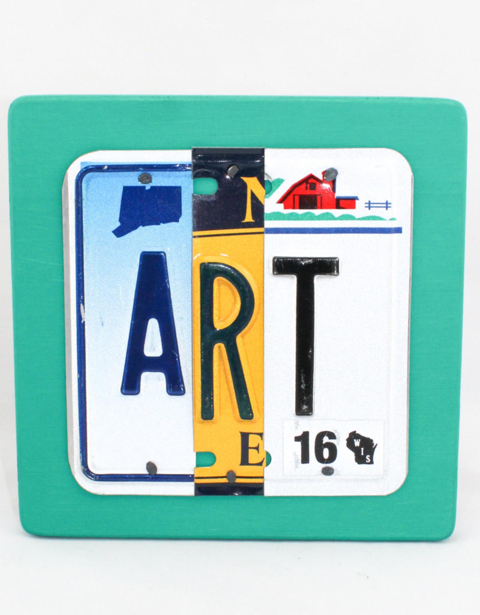 Unique Pl8Z ART sign