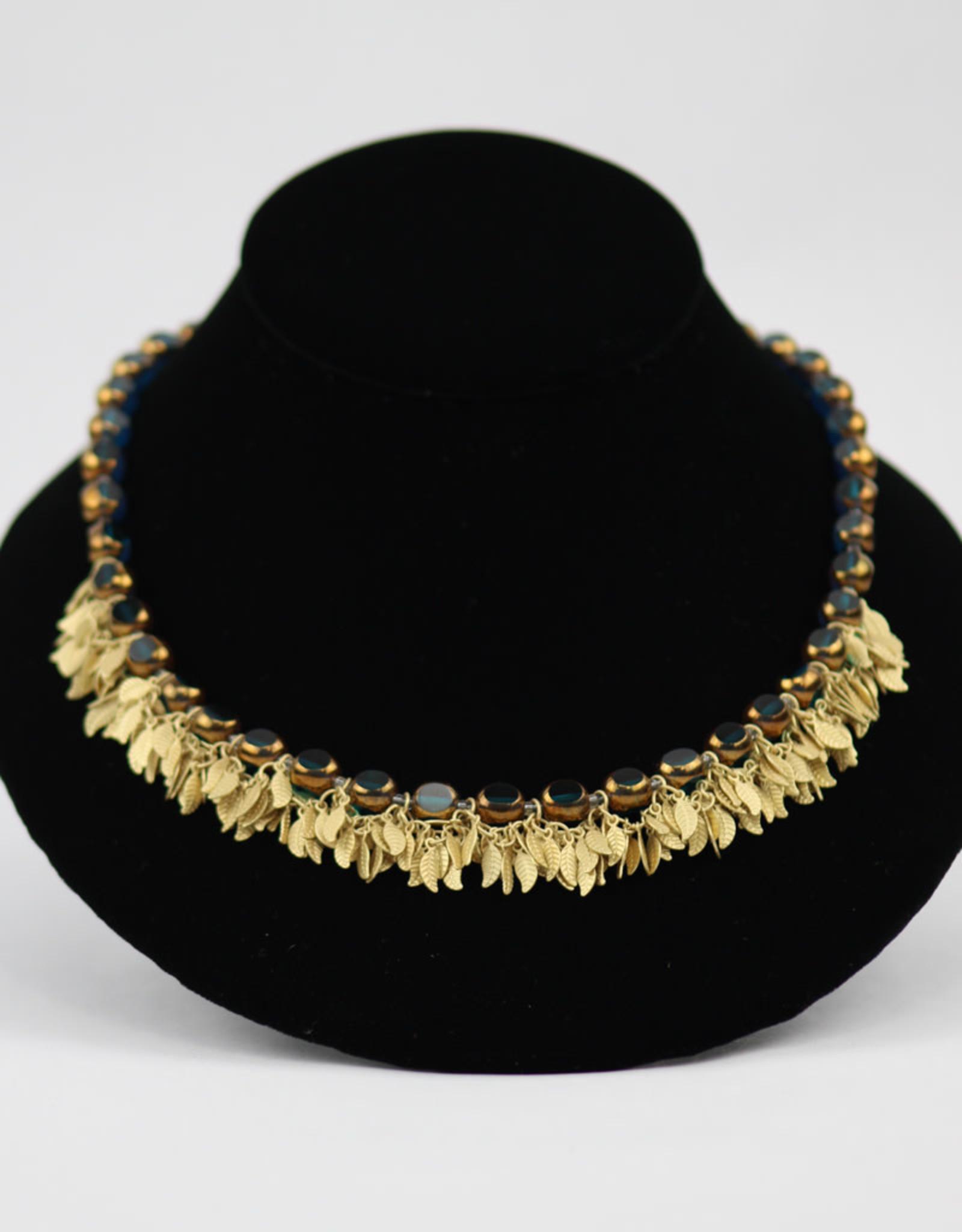 Stefanie Wolf Designs Fringe Necklace