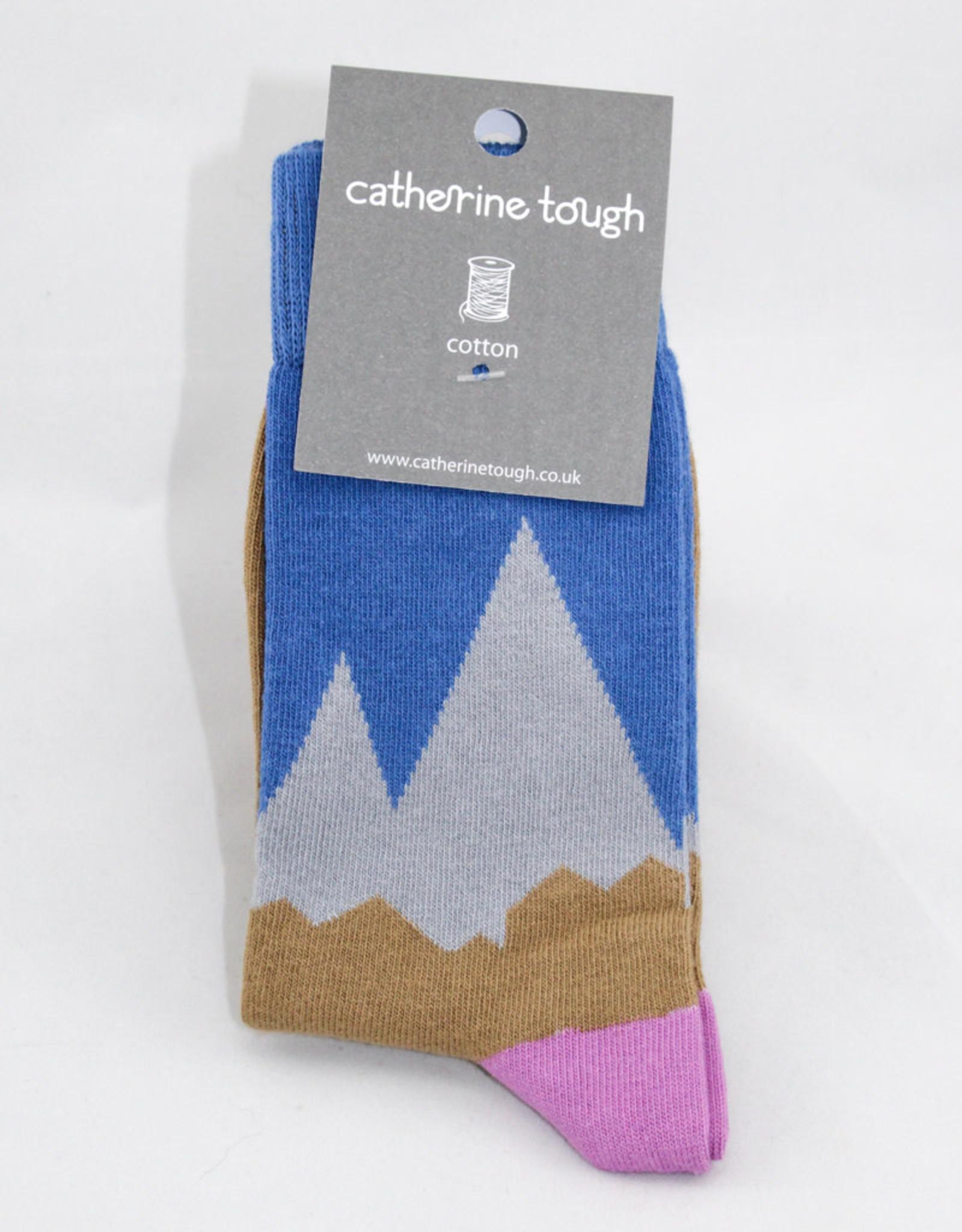 Catherine Tough Ladies Cotton Mountains Socks