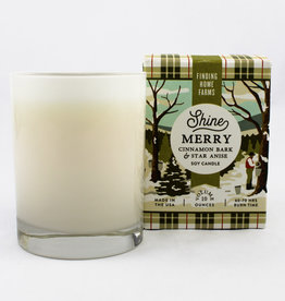 Finding Home Farms Shine Merry Boxed Candle