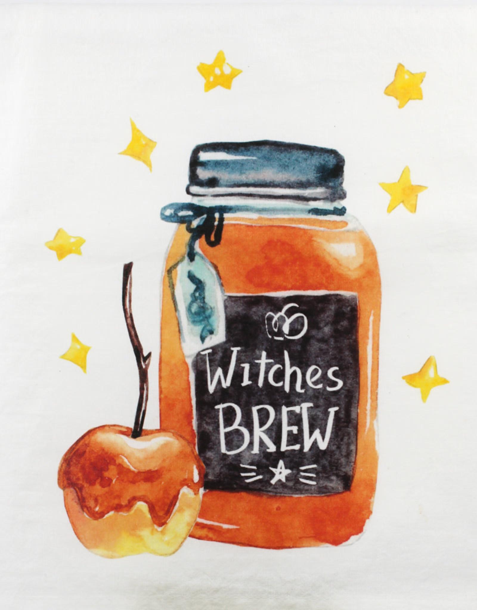 Kitchen Billboards Witches Brew Kitchen Towel