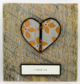 Bibleot Designs Wall Tile Heart