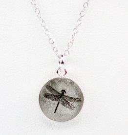 Everyday Artifacts Dragonfly Fossil Necklace