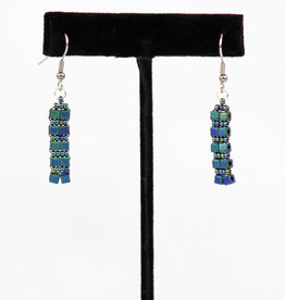 Creations Beaded Glass Earrings
