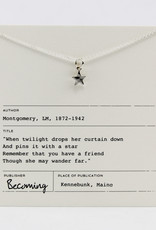 Becoming Jewelry Shiny Star Necklace