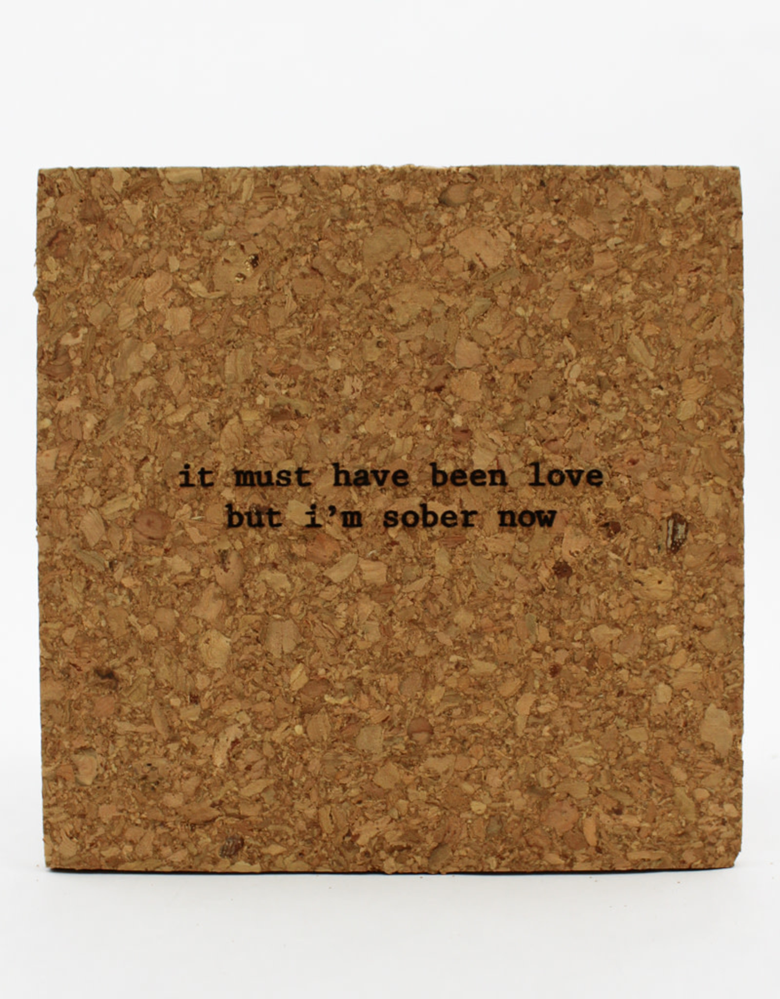 Bright Beam Goods It Must Have Been Love Cork Coaster