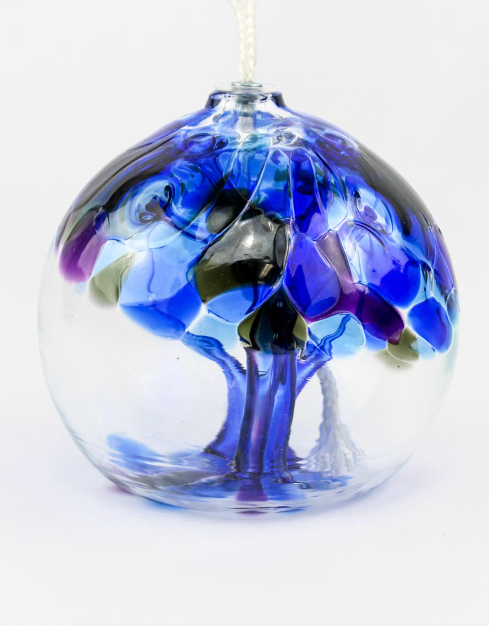 Kitras Glass Oil Lamp - Winter