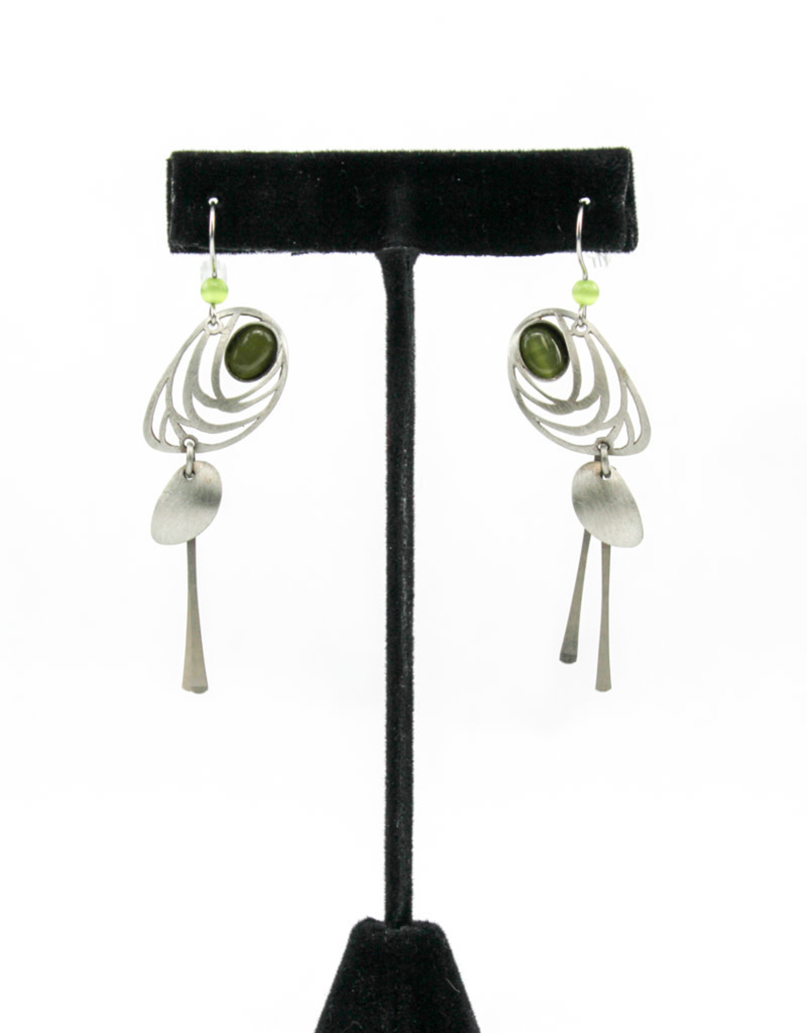 Christophe Poly Jewelry Hook Earring CP-8
