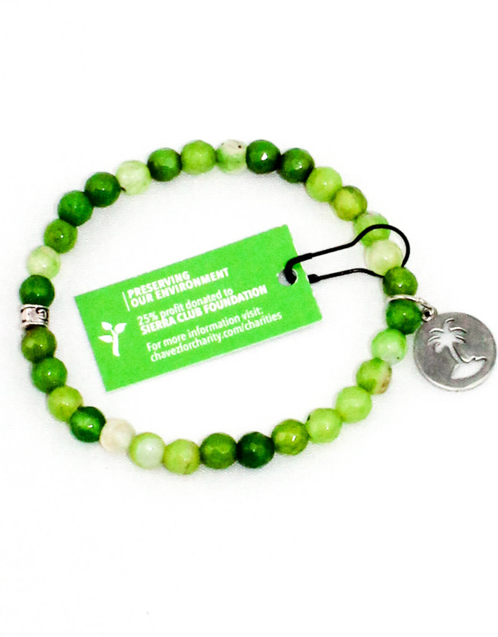 Chavez for Charity Shell Yea Bracelet