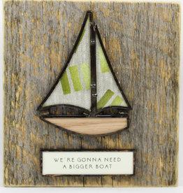 Bibleot Designs Wall Tile Sailboat Cool Change