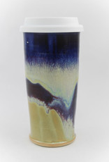 Jason Silverman Ceramics Travel Mug Berries & Cream