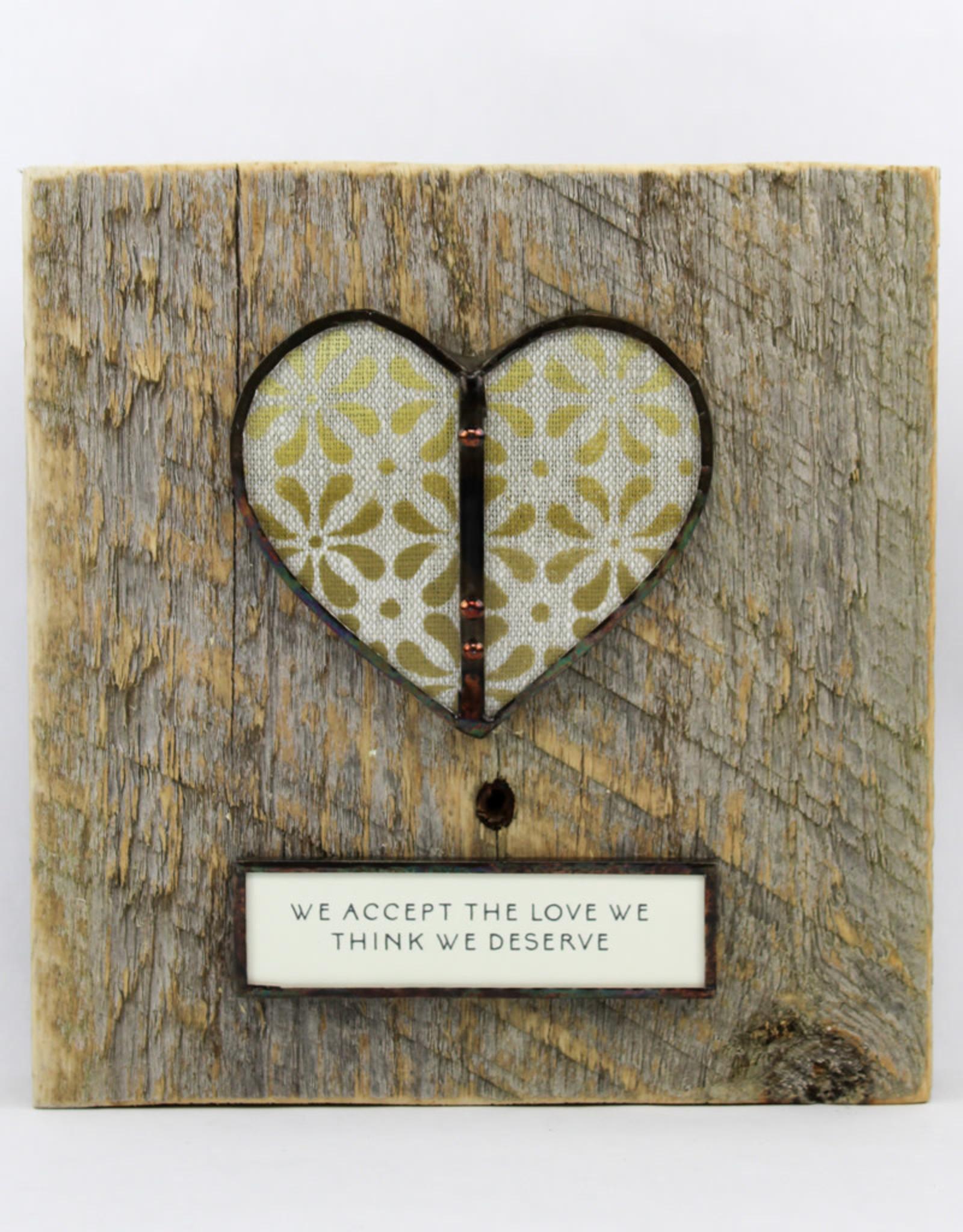 Bibleot Designs Wall Tile Heart Love Us