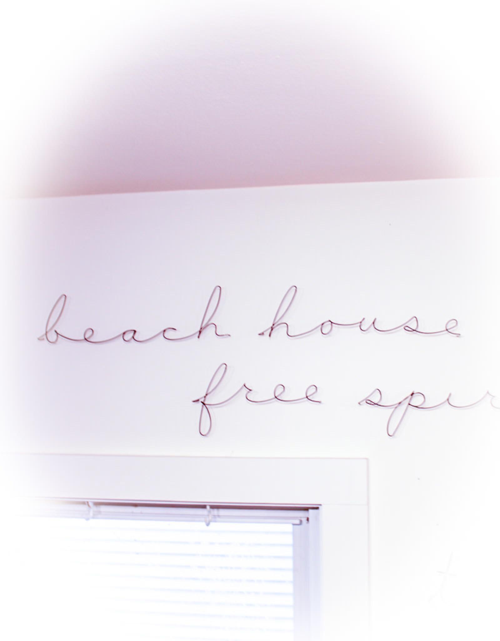 Gauge NYC Poetic Sign-Beach House