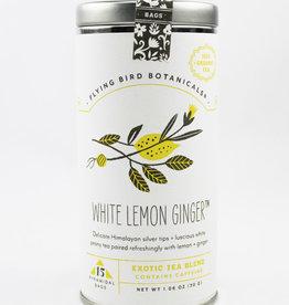 White Lemon Ginger 15 Bag Tin