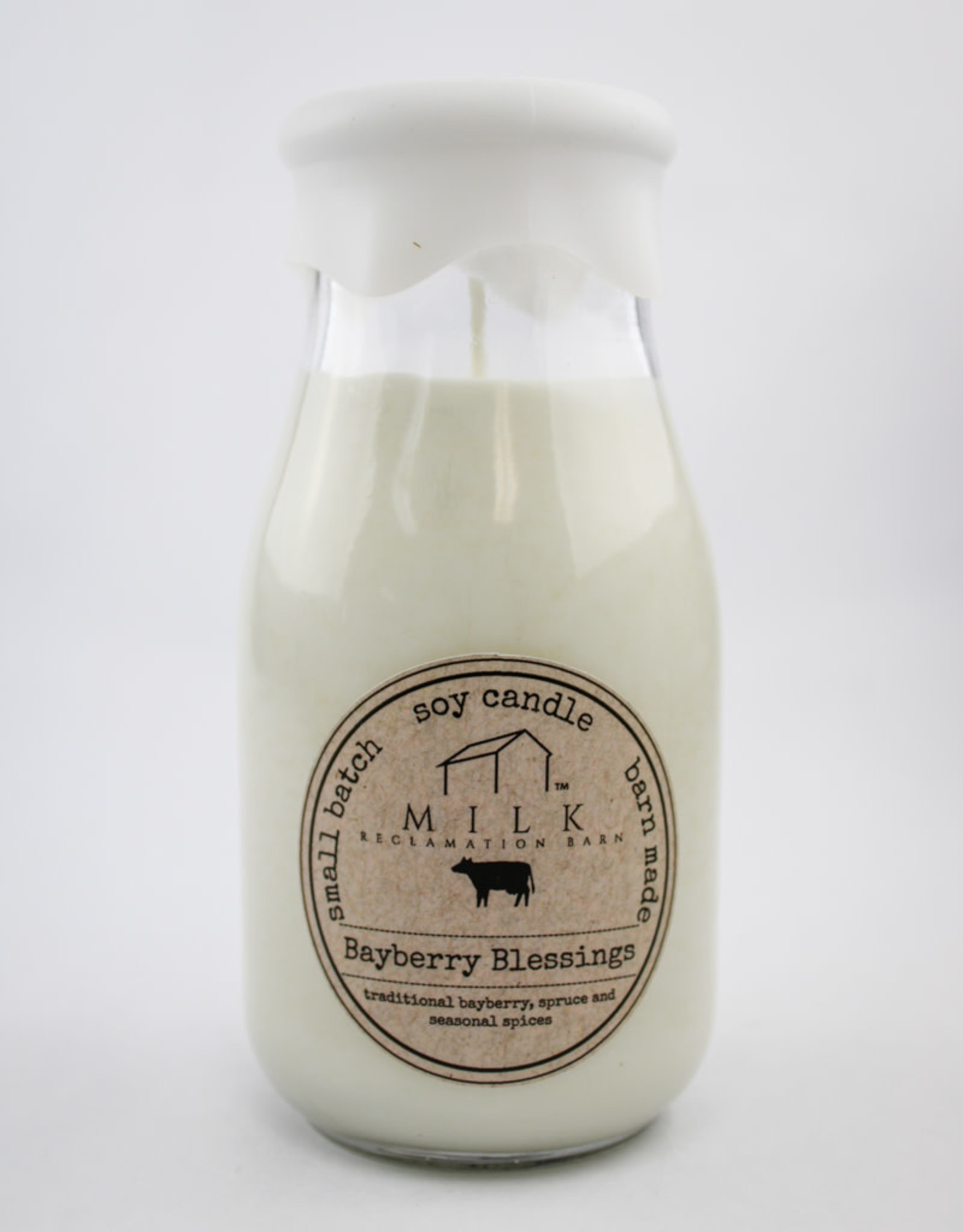 Milk Reclamation Barn Milk Bottle Holiday Collection Once Upon A Time Gingerbread Candle