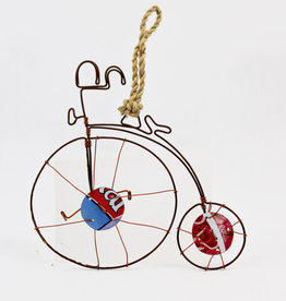 Global Crafts Old Fashioned Bike Ornament