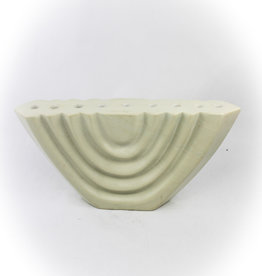 Global Crafts Soapstone Cream Menorah