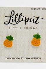 Lilliput Pineapple Earrings