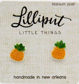Lilliput Pineapple Earrings