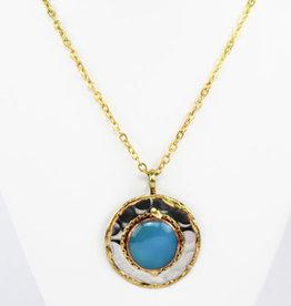 Anju Jewelry Janya Chalcedony Pendant