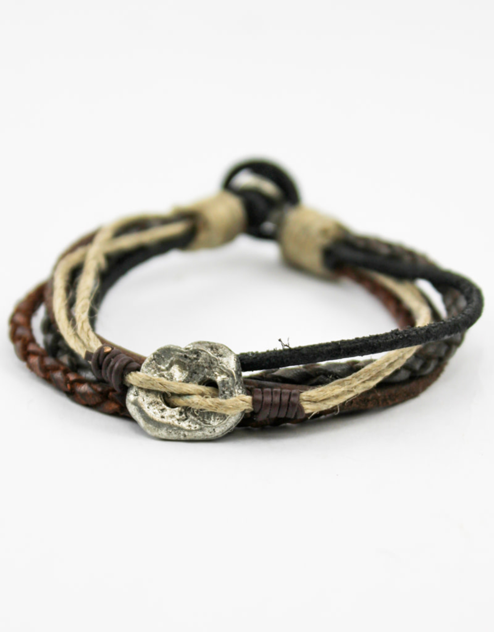 Anju Jewelry Aadi Metal Men's Bracelet