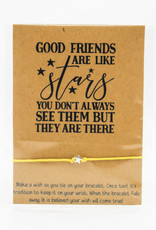 Wishlets Good Friends Are Like Stars Wish Bracelet