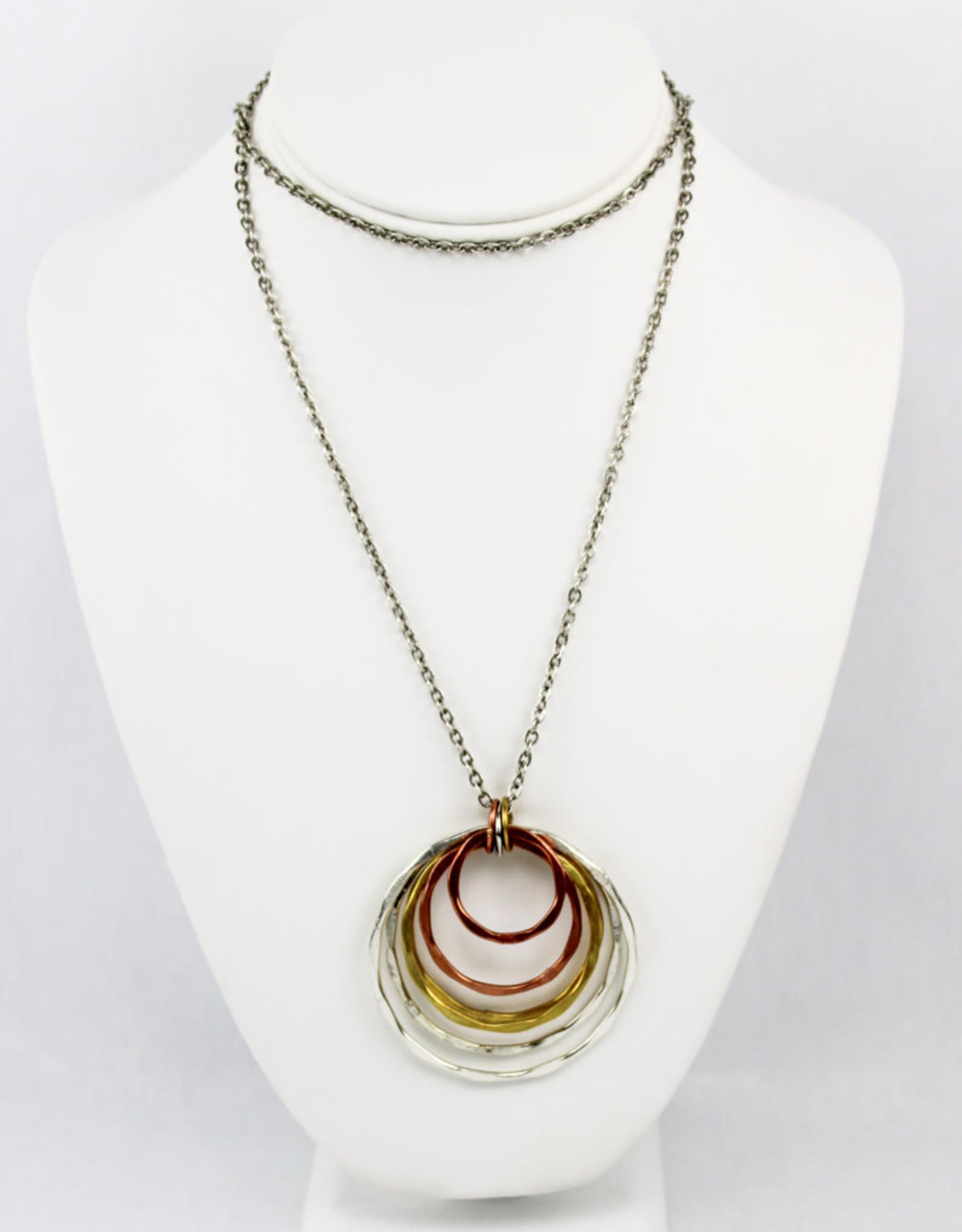 Anju Jewelry Banjara Graduated Circles Necklace
