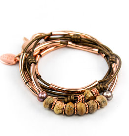 Lizzy James Fig-Met Bronze-2-RGP-M Bracelet