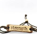 Mud Love Strength Bracelet