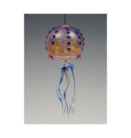 720 Glassworks Jelly Bell Cobalt Dot Large