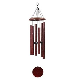 "QMT Windchimes 50"" Ruby Chime"