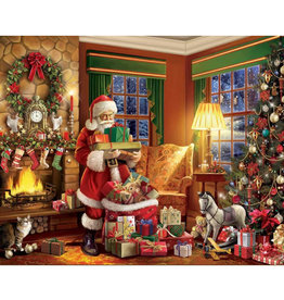 White Mountain Puzzles Delivering Gifts 500pc Puzzle