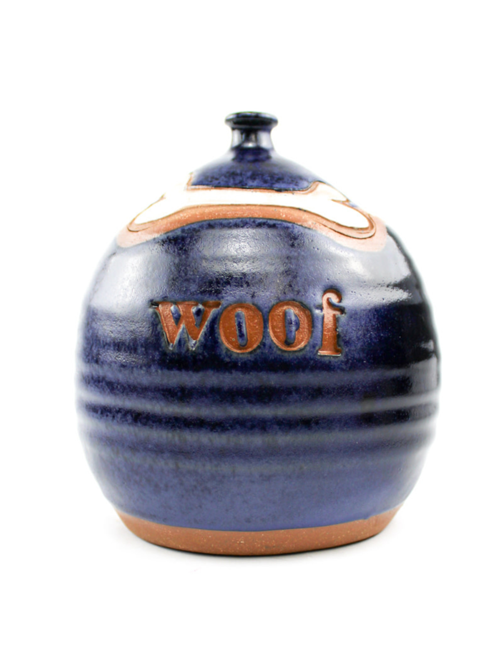 Lulu Ceramics Ceramic Treat Jar Woof